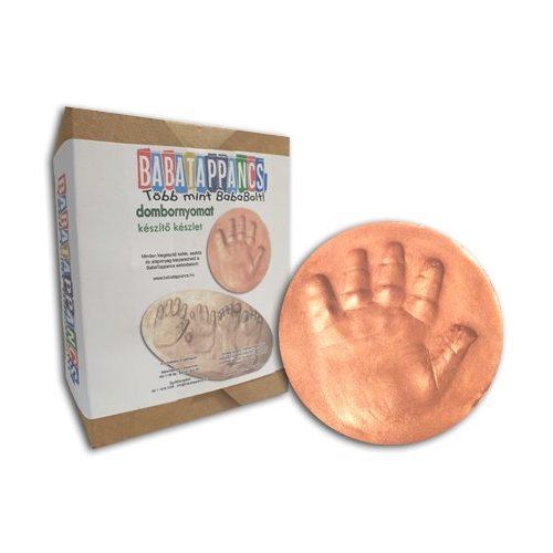 BabaTappancs lenyomat és dombornyomat készítő összeállítás ( 1 láb vagy kéz lenyomatra ), kézszobor, lábszobor