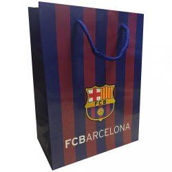 Barcelona ajándékszatyor csíkos XL - XL, Bordó/Kék