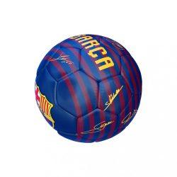 Barcelona labda mini csíkos aláírásos - 1