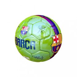 """Barcelona labda mini zöld aláírásos 1"""" - 1"""