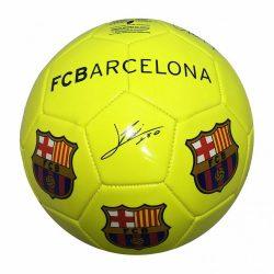 """Barcelona labda sárga aláírásos 5"""" B1706 - 5"""