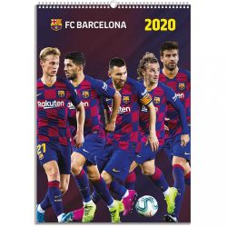 Barcelona naptár 2020