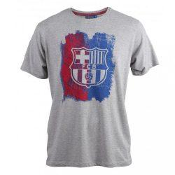 Barcelona póló felnőtt - XXL, Szürke