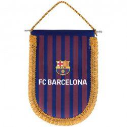 Barcelona zászló autós