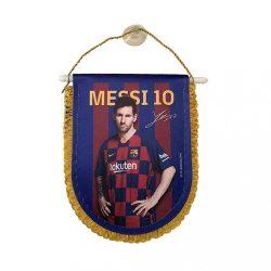 Barcelona zászló autós Messi