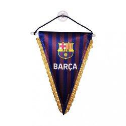 Barcelona zászló autós háromszög
