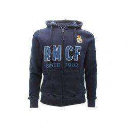 Real Madrid pulóver kapucnis zippes gyerek - 10, Sötétkék