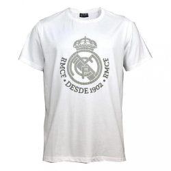 Real Madrid póló címeres Desde 1902 felnőtt - L