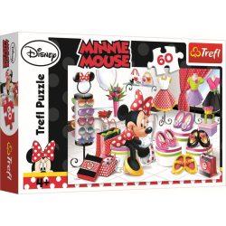 Minnie egér Vásárlási őrület 60 db-os Puzzle Trefl