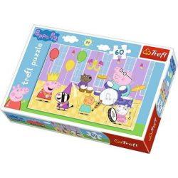 Peppa Pig bandája  60 db-os puzzle Trefl