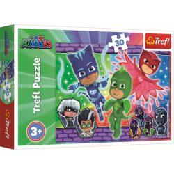 Pizsihősök Nagyszerű csapat puzzle 30 db-os Trefl