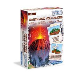 Science Föld és vulkánok készlet Clementoni