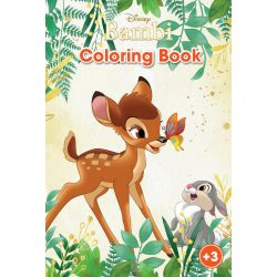 Bambi színező füzet Kiddo