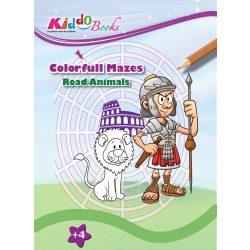 Labirintus készségfejlesztő Kiddo Books