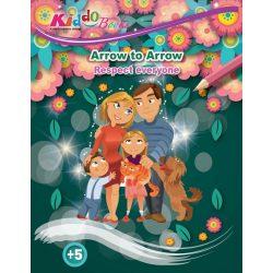 Lépésről lépésre színező - Respect - Kiddo Books