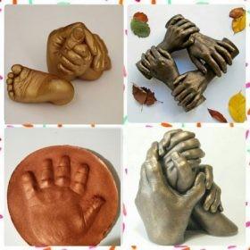 Kéz és lábszobor készítő csomagok