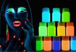 Fluoreszkáló festékek (UV fényben látható)