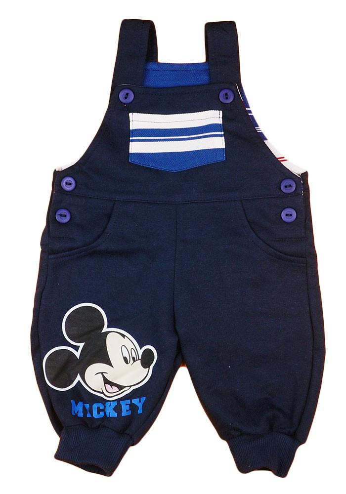 Disney Mickey baba/gyerek kertésznadrág (méret: 62-92)