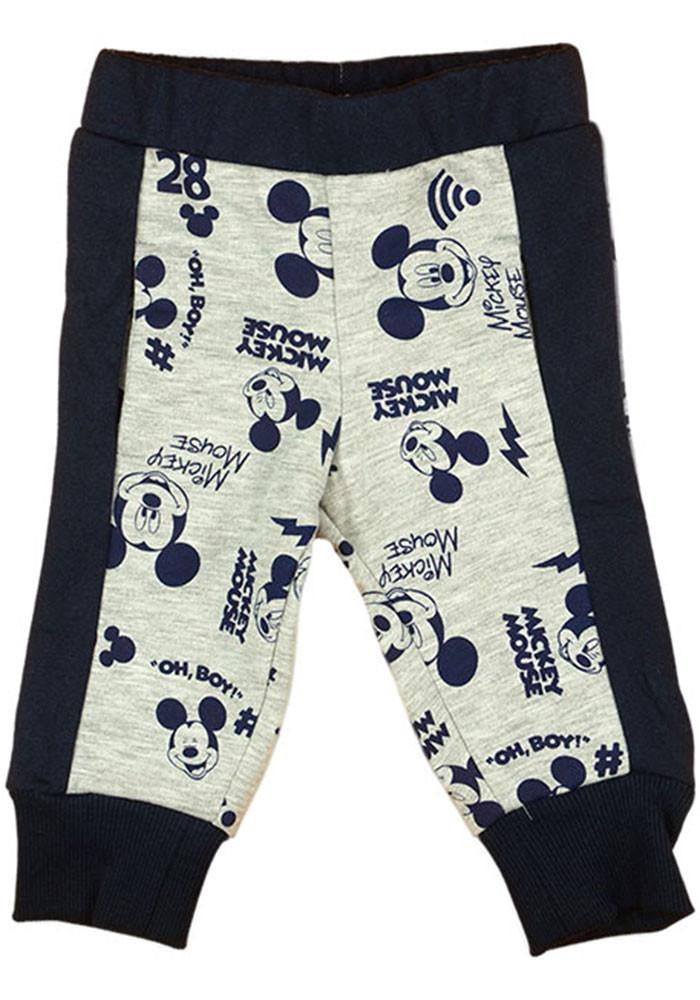 Disney Mickey belül bolyhos  baba/gyerek szabadidő nadrág (méret: 62-98)