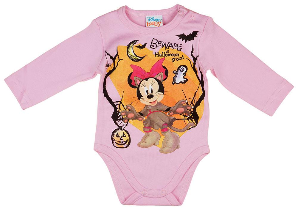 Disney Minnie halloween hosszú ujjú baba body