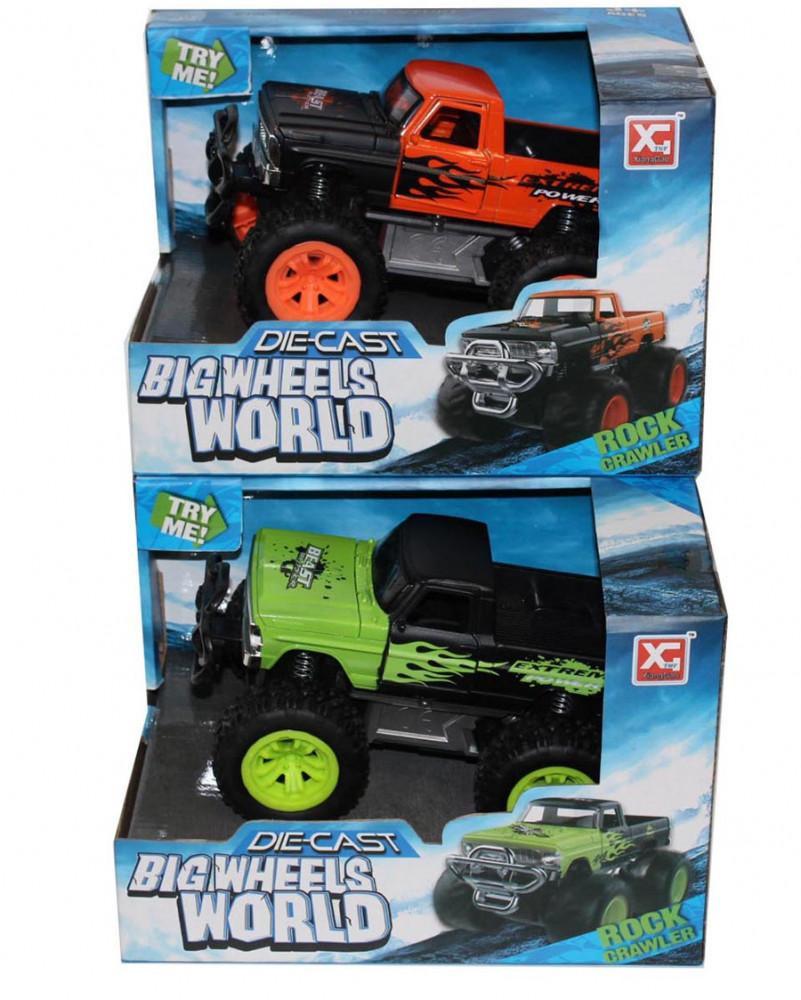 Big Wheels játék terepjáró
